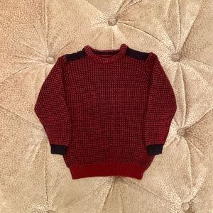 Toddler Boys Shoulder Patch Sweater